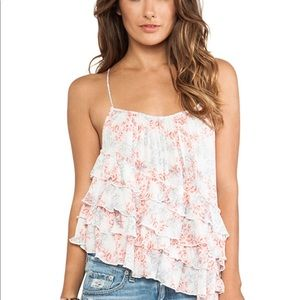 Free People Festival Combo Tank NWT Size L